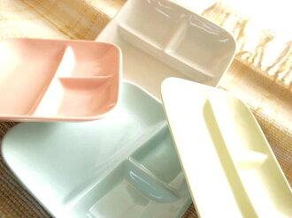 彩色餐具日常樂趣 ☆ 感謝由超過 100 萬件 ! 一個正方形的午餐盤子