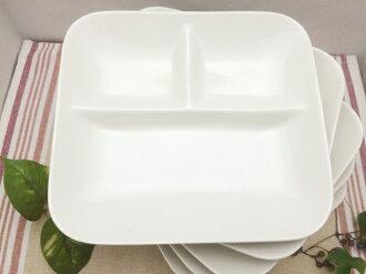 方形午餐盤子 ivorycomicomi 5 片套銷售有限
