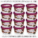 ショッピングアイスクリーム 【HD】ハーゲンダッツ ミニカップ クリスプチップチョコレート 110ml×12個