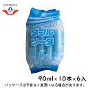 ショッピングアイスクリーム 【スーパーSALE】 田口乳業 ダブルソーダ10本 90ml×10本×6入
