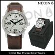 ニクソン nixon 腕時計 ザ プライベート Silver/Brown(nixon The Private Silver/Brown メンズ腕時計 男性用 NA0491113) ice filed icefield
