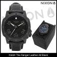 ニクソン nixon 腕時計 メンズ ザ レンジャー レザー オールブラック(nixon The Ranger Leather All Black 時計 メンズ 男性用 NA508001) ice filed icefield 05P27May16