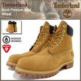 ティンバーランド Timberland ブーツ 6インチ プレミアム ウィートヌバック(timberland TIMBERLAND 10061 6inch Premium Boot
