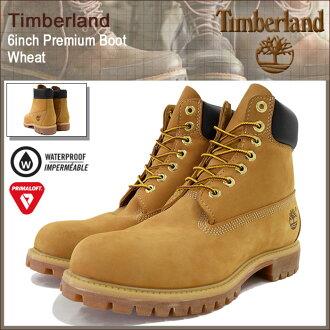 Timberland boots Timberland 6 inch premium Wheaton back (Timberland timberland TIMBERLAND timber 10061-6inch Boot Wheat yellow waterproof classic mens shoes MENS Timberland timber) ice filed icefield