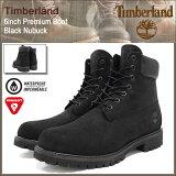 ティンバーランド Timberland ブーツ 6インチ プレミアム ブラックヌバック(ティンバーランド timberland TIMBERLAND ティンバ 10073 6inch Boot Black 黒 防水 定番 メンズ・靴 MENS ティンバーランド ティンバー)
