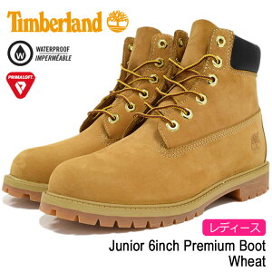 �ƥ���С�����Timberland����˥�6������ץ�ߥ��०�����ȥ̥Хå��֡��ĥ�ǥ�����(������)(timberlandJunior129096inchPremiumBootWheat�����?�ɿ�����TIMBERLANDWOMENStimberland)icefiledicefield
