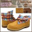 ティンバーランド Timberland ジュニア ブーツ ロールトップ ウィート ウィズ プレイド レディース(女性用) (timberland 1994A Junior ROLL TOP Wheat with Plaid Boot BOOT BOOTS レディース・靴 Ladys ティンバ-ランド ティンバ−ランド) ice filed icefield