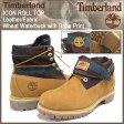 ティンバーランド Timberland ブーツ アイコン ロールトップ レザー/ファブリック ウィート ウォーターバック ウィズ バハプリント(timberland 6456A ICON ROLL TOP Leather/Fabric Boot BOOT BOOTS メンズ・靴 MENS ティンバ-ランド ティンバ−ランド)