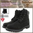 ティンバーランド Timberland ブーツ ウィメンズ 6インチ プレミアム Black Waterbuck(timberland 8658A Womens 6inch Premium Boot BOOTS 防水 シックスインチ ブラック 黒 女性用 LADYS・靴 レディース靴) ice filed icefield