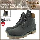 【30%OFF】【日本正規品】ティンバーランド Timberland ブーツ メンズ アイコン 6インチ プレミアム ダークアーバン シック ウォーターバック ヌバック(A17Q4 ICON 6inch Premium Boot Dark Urban Chic Waterbuck Nubuck 防水 男性用 MENS・靴 メンズ靴)