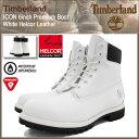 ティンバーランド Timberland ブーツ メンズ 男性用 アイコン 6インチ プレミアム ホワイト ヘルコア レザー(timberland A1GUY ICON 6inch Premium Boot White Helcor Leather 防水 シックスインチ 男性 紳士用 MENS・靴 メンズ靴) ice filed icefield