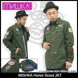 ミシカ MISHKA アナー スカウト ジャケット(mishka Honor Scout JKT JACKET JAKET シャツジャケット アウター ジャンパー?ブルゾン メンズ 男性用 FL131