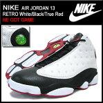 ナイキ NIKE スニーカー エア ジョーダン 13 レトロ White/Black/True Red HE GOT GAME メンズ(男性用) (nike AIR JORDAN 13 RETRO HE GOT GAME Sneaker sneaker SNEAKER MENS・靴 シューズ SHOES スニーカ 309259-104)