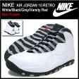 ナイキ NIKE スニーカー エア ジョーダン 10 レトロ White/Black/Grey/Varsity Red ノンフューチャー メンズ(男性用) (nike AIR JORDAN 10 RETRO Non-Future Sneaker sneaker SNEAKER MENS・靴 シューズ SHOES スニーカ 310805-103)