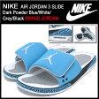 ナイキ NIKE サンダル エア ジョーダン 3 スライド Dark Powder Blue/White/Grey/Black メンズ(男性用) (nike AIR JORDAN 3 SLIDE BRAND JORDAN 428789-407) ice filed icefield