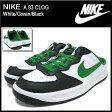 ナイキ NIKE スニーカー A 83 クロッグ White/Green/Black メンズ(男性用) (nike A 83 CLOG Sneaker sneaker SNEAKER MENS・靴 シューズ SHOES スニーカ 443379-102) ice filed icefield