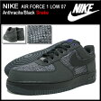 ナイキ NIKE スニーカー エア フォース 1 ロー 07 Anthracite/Black スネーク メンズ(男性用) (nike AIR FORCE 1 LOW 07 Snake Sneaker sneaker SNEAKER MENS・靴 シューズ SHOES スニーカ 488298-028) ice filed icefield