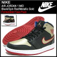 ナイキ NIKE スニーカー エア ジョーダン 1 ミッド Black/Gym Red/Metallic Gold メンズ(男性用) (nike AIR JORDAN 1 MID Formidable Foes Pack Sneaker sneaker SNEAKER MENS・靴 シューズ SHOES スニーカ 554724-013) ice filed icefield