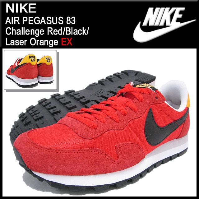 ナイキ NIKE スニーカー エア ペガサス 83 Challenge Red/Black/Laser Orange 限定 メンズ(男性用) (nike AIR PEGASUS 83 EX Sneaker sneaker SNEAKER MENS靴 シューズ SHOES スニーカ 599124-608)