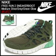 ナイキ NIKE スニーカー フリー ラン 2 スニーカーブーツ Medium Olive/Grey/Green Glow 限定 メンズ(男性用) (nike FREE RUN 2 SNEAKERBOOT SELECT Sneaker sneaker SNEAKER MENS・靴 シューズ SHOES スニーカ 616744-200) ice filed icefield