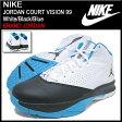 ナイキ NIKE スニーカー ジョーダン コート ビジョン 99 White/Black/Blue メンズ(男性用) (nike JORDAN COURT VISION 99 BRAND JORDAN Sneaker sneaker SNEAKER MENS・靴 シューズ SHOES スニーカ 616777-107)