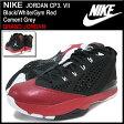 ナイキ NIKE スニーカー ジョーダン CP3. 7 Black/White/Gym Red/Cement Grey メンズ(男性用) (nike JORDAN CP3. VII BRAND JORDAN Sneaker sneaker SNEAKER MENS・靴 シューズ SHOES スニーカ 616805-002)