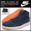 ナイキ NIKE スニーカー エア ジョーダン 1 ミッド ヌーヴォー Obsidian/Orange/Grey メンズ(男性用) (nike NIKE AIR JORDAN 1 MID NOUVEAU BRAND JORDAN Sneaker sneaker SNEAKER MENS・靴 シューズ SHOES スニーカ 629151-403) ice filed icefield
