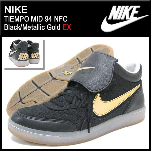 ナイキ NIKE スニーカー ティエンポ ミッド 94 NFC Black/Metallic Gold 限定 メンズ(男性用) (nike TIEMPO MID 94 NFC EX Sneaker sneaker SNEAKER MENS靴 シューズ SHOES スニーカ 644824-070)