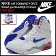 ナイキ NIKE スニーカー エア コマンド フォース White/Lyon Blue/Bright Crimson 限定 メンズ(男性用) (nike AIR COMMAND FORCE NSW BEST Sneaker sneaker SNEAKER MENS・靴 シューズ SHOES スニーカ 684715-101) ice filed icefield