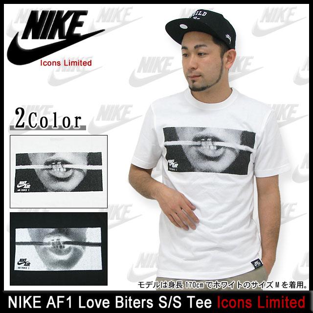 ナイキ NIKE AF1 ラブ バイターズ Tシャツ 半袖 Icons Limited(nike AF1 Love Biters S/S Tee ティーシャツ T-SHIRTS トップス メンズ 男性用 532691)