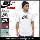 ナイキ NIKE SB DRI-FIT アイコン ロゴ Tシャツ 半袖 SB(nike SB DRI-FIT Icon Logo S/S Tee SB DRI-FIT ティーシャツ T-SHIRTS トップス メンズ 男性用 623403) ice filed icefield