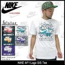 ナイキ NIKE AF1 ロゴ Tシャツ 半袖 Icons Limited(nike AF1 Logo S/S Tee ティーシャツ T-SHIRTS トップス メンズ 男性用 611355) ice filed icefield