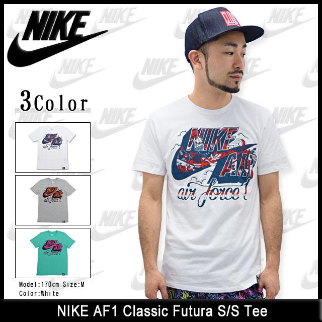 ナイキ NIKE AF1 クラシック フューチュラ Tシャツ 半袖(nike AF1 Classic Futura S/S Tee ティーシャツ T-SHIRTS トップス メンズ 男性用 659741)