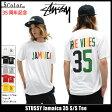 ショッピングSTUSSY ステューシー STUSSY Tシャツ 半袖 メンズ Jamaica 35(stussy tシャツ tee ティーシャツ T-SHIRTS カットソー トップス メンズ 1903576 ステューシー tシャツ ストゥーシー スチューシー)