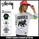 ステューシー STUSSY カットソー 七分袖 メンズ Jamaica Football(stuss