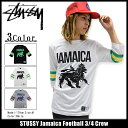 �X�e���[�V�[ STUSSY �J�b�g�\�[ ������ �����Y Jamaica Football(stuss