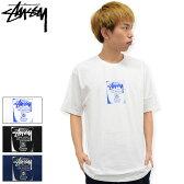 【7/25入荷予定】ステューシー STUSSY Tシャツ 半袖 メンズ WT Stamp(stussy tee ティーシャツ T-SHIRTS カットソー トップス メンズ・男性用 ワールドツアー 1903871 ストゥーシー スチューシー) ice filed icefield