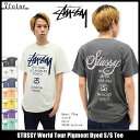 ステューシー STUSSY Tシャツ 半袖 メンズ World Tour Pigment Dyed 05P03Dec16