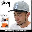 ステューシー STUSSY キャップ 帽子 Vintage S Snapback Cap(スナップバック メンズ・男性用 131613 ストゥーシー スチューシ...