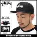 ステューシー STUSSY キャップ 帽子 Stock FA16 Snapback Cap(スナップバック メンズ・男性用 131610 ストゥーシー スチュー...