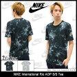ナイキ NIKE Tシャツ 半袖 メンズ インターナショナル リオ AOP(nike International Rio AOP S/S Tee ティーシャツ T-SHIRTS カットソー トップス メンズ 男性用 メンズ 男性用 803951) ice filed icefield