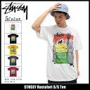 ステューシー STUSSY Tシャツ 半袖 メンズ Rastafari(stussy tee ティーシャツ T-SHIRTS カットソー トップス メンズ・男性用 1903910 ストゥーシー スチューシー) ice filed icefield