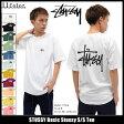 ステューシー STUSSY Tシャツ 半袖 メンズ Basic Stussy(stussy tee ティーシャツ T-SHIRTS カットソー トップス ベーシック メンズ・男性用 1903891 1903838 ストゥーシー スチューシー) ice filed icefield