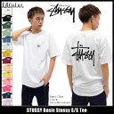 ステューシー STUSSY Tシャツ 半袖 メンズ Basic Stussy(stussy tee ティーシャツ T-SHIRTS カットソー トップス ベーシック メンズ・男性用 1903891 1903838 ストゥーシー スチューシー) ice filed icefield 05P03Dec16