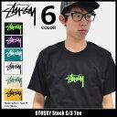 ステューシー STUSSY Tシャツ 半袖 メンズ Stock Tee 1904026 (stussy ステューシー 半袖tシャツ トップス ストリート stussy 正規)