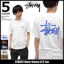 ステューシー STUSSY Tシャツ 半袖 メンズ Basic Stussy(stussy tee ティーシャツ T-SHIRTS カットソー トップス ベーシック メンズ・男性用 1904003 ストゥーシー スチューシー) ice filed icefield