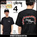 ステューシー STUSSY Tシャツ 半袖 メンズ LB Roses(stussy tee ティーシャツ T-SHIRTS カットソー トップス メンズ・男性用 1904020 ストゥーシー スチューシー) ice filed icefield