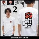 ステューシー STUSSY Tシャツ 半袖 メンズ Int Rose(stussy tee ティーシャツ T-SHIRTS カットソー トップス メンズ・男性用 1904017 ストゥーシー スチューシー) ice filed icefield