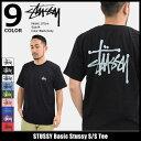 ステューシー STUSSY Tシャツ 半袖 メンズ Basic Stussy(stussy tee ティーシャツ T-SHIRTS カットソー トップス ベーシック メンズ・..