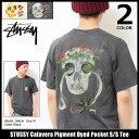 ステューシー STUSSY Tシャツ 半袖 メンズ Calavera P